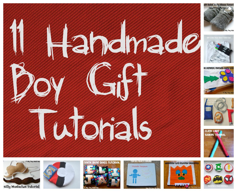 handmade boy gift wrap-up