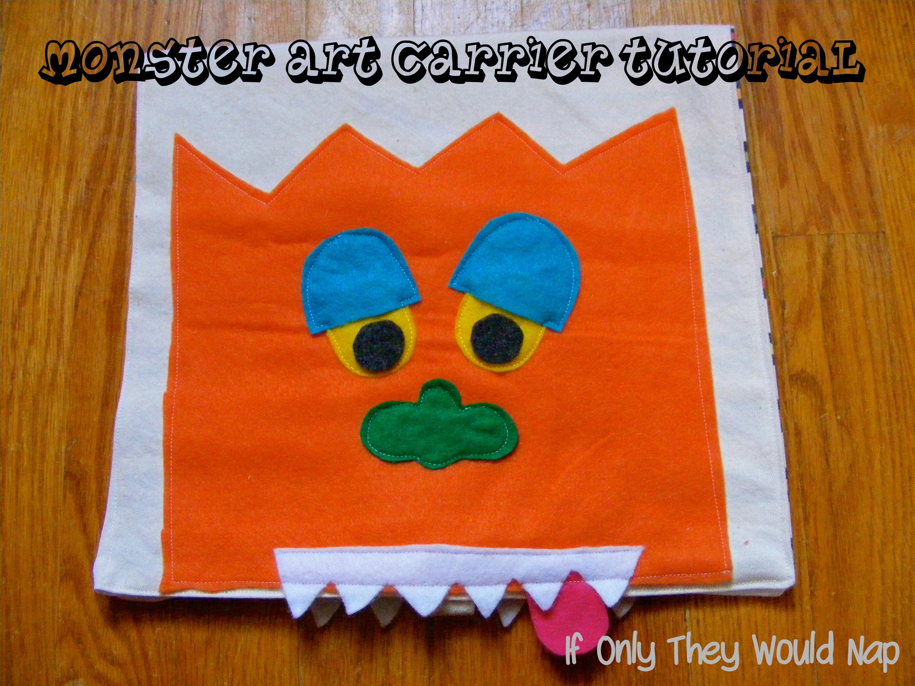 monster art carrier tutorial