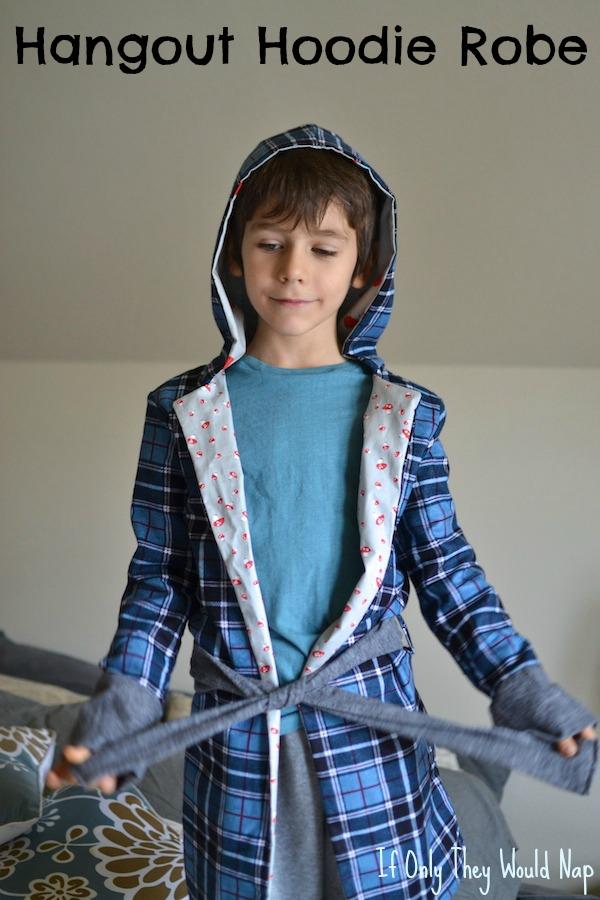 hangout hoodie robe