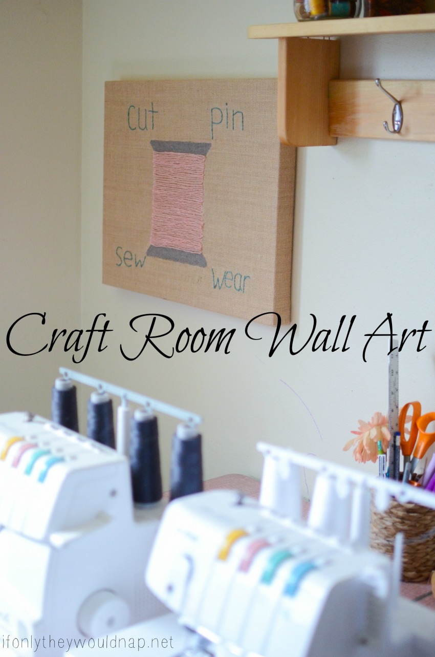 Craft Room Wall Art