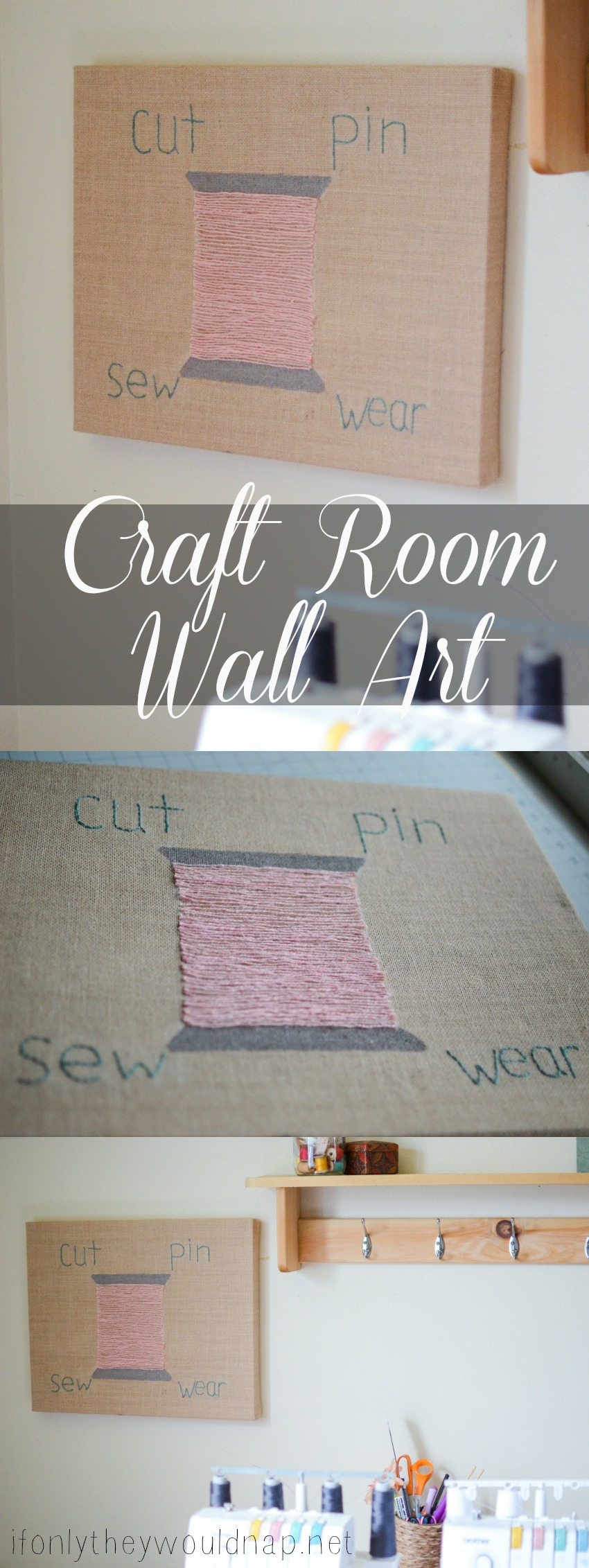 Make Your Own Craft Room Wall Art