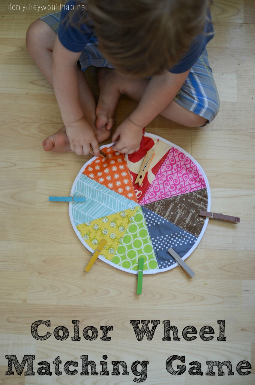 Color Wheel Matching Game Tutorial