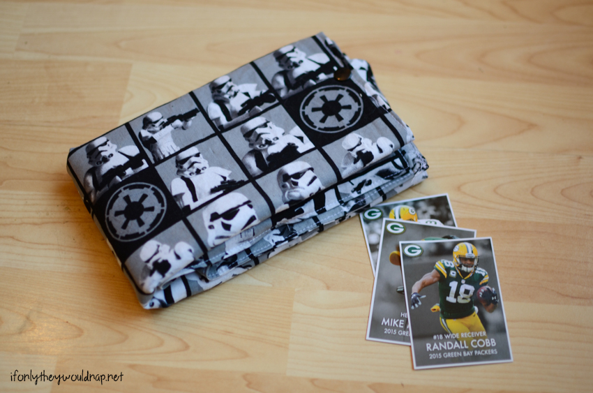 Folded Up Card Carrier tutorial