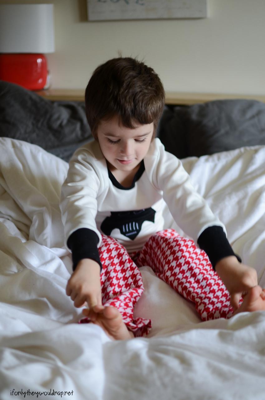 Peekaboo Pajamas