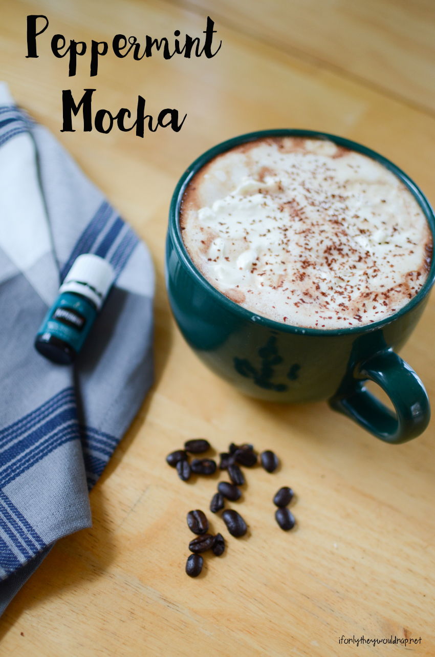 Make your own Peppermint Mocha at home
