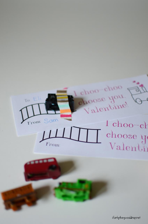 quick valentine printable
