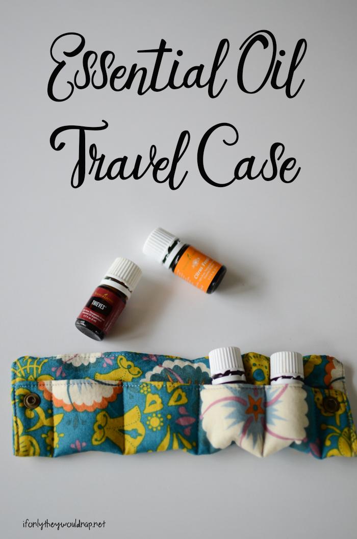 Essential Oil Travel Case Tutorial