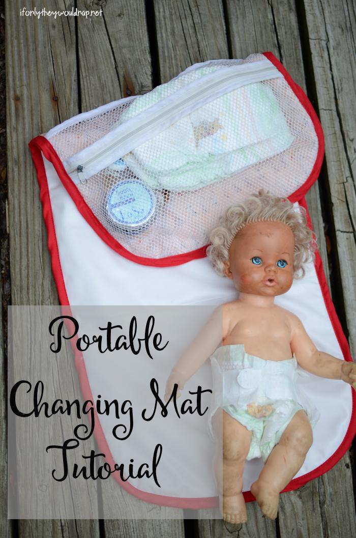 Portable Changing Mat Tutorial