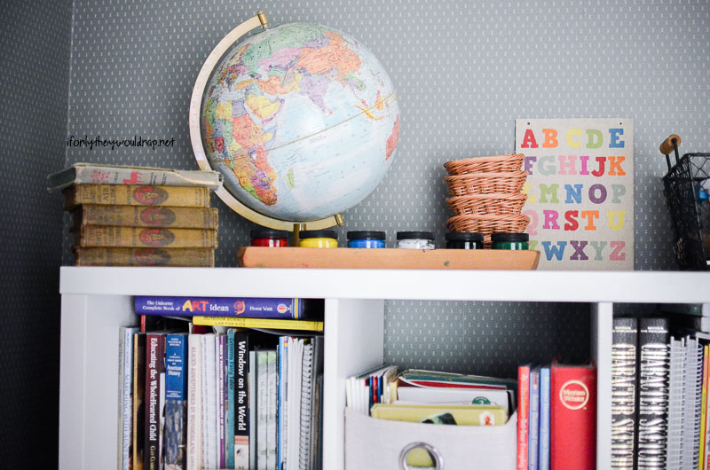 Homeschool Room Inspiration and Organization
