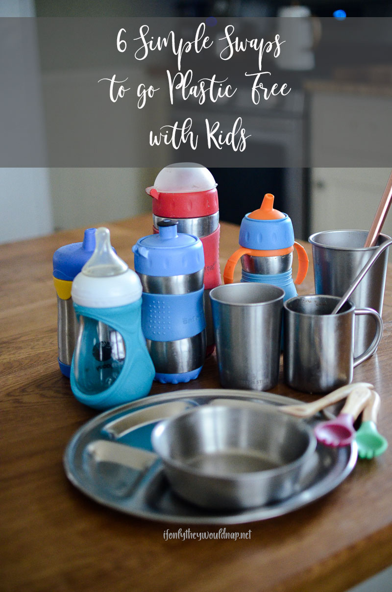 6 simple swaps to go plastic free with kids