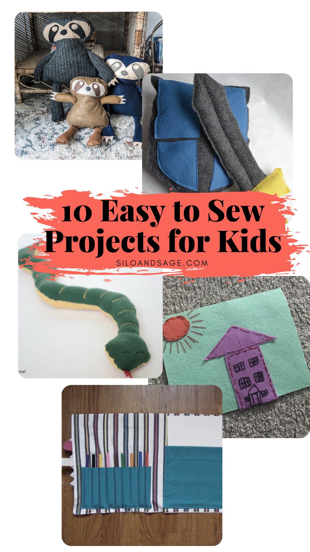 Ten Easy to Sew Projects for Kids